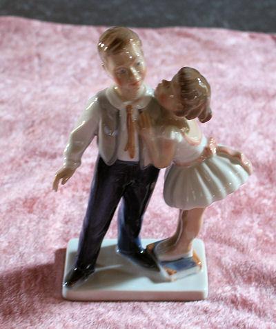 Dreng Og Pige - Lyngby Figur