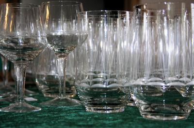 Drikkeglas - finere