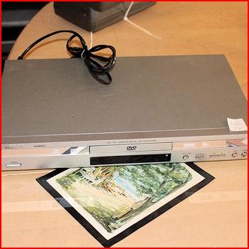DVD afspillermaskine