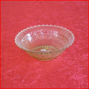 Gul skål fra loppemarked