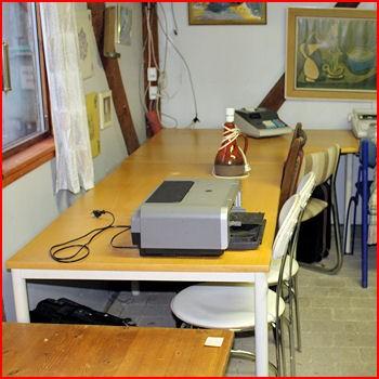 Hjørneskrivebord