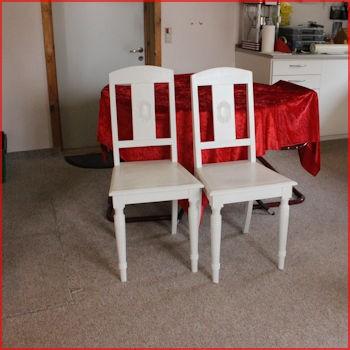 Hvide stole
