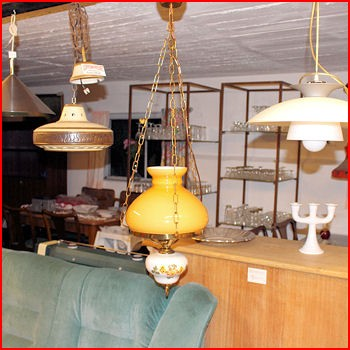 Ældre lampe