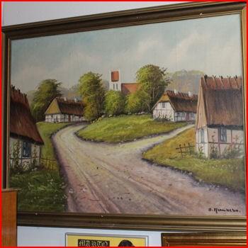 Gammel landsby
