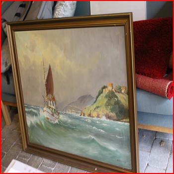 Båd På Havet