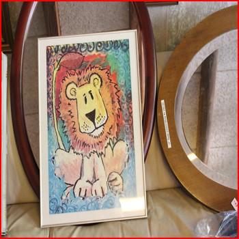 Billede med Løve