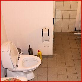 Toiletforhold på loppemarkedet